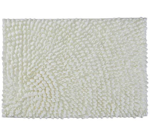 BADTEPPICH in Weiß 60/90 cm - Weiß, Basics, Kunststoff/Textil (60/90cm) - Kleine Wolke