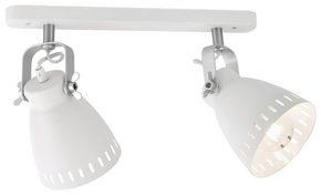 TAKLAMPA - vit, Design, metall (51/23cm) - Boxxx