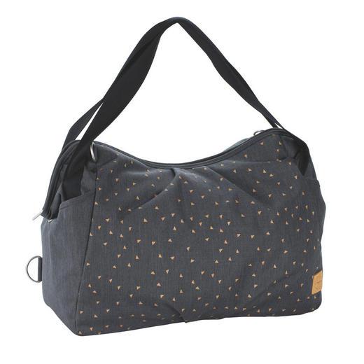 Twin Bag  Wickeltasche - Dunkelgrau/Schwarz, Basics, Textil (44/19/33cm) - Lässig
