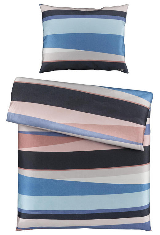 BETTWÄSCHE - Blau/Braun, Design, Textil/Weitere Naturmaterialien (140/200/cm) - Joop!