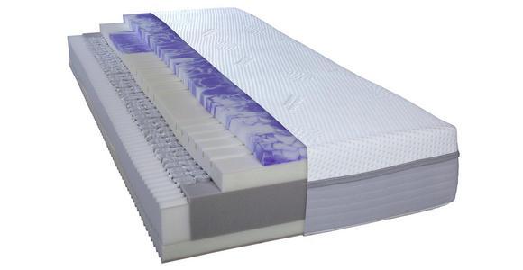 TASCHENFEDERKERNMATRATZE 120/200 cm  - Weiß, Basics, Textil (120/200cm) - Dieter Knoll