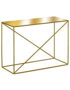 KONSOLE Goldfarben  - Goldfarben, Trend, Metall (77/57/34cm)