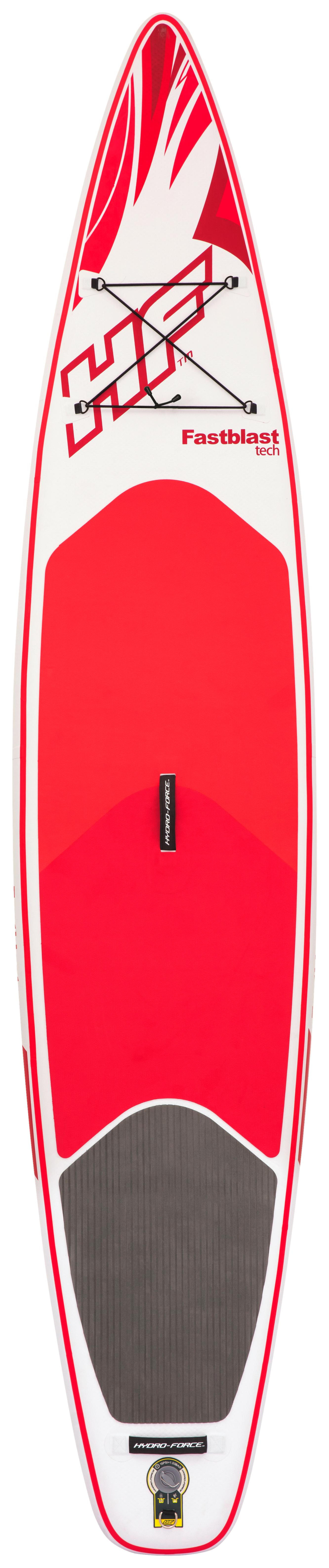Stand Up Paddle Surfboard aufblasbar rot und weiß günstig kaufen Wellenreiten-Boards