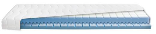 KALTSCHAUMMATRATZE 120/200 cm - Weiß, Basics, Textil (120/200cm) - DIAMONA