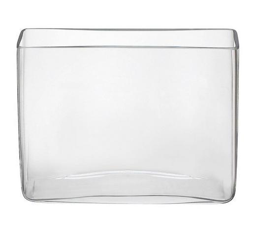 VASE 15 cm - Klar, Basics, Glas (20/15/6cm) - Ambia Home