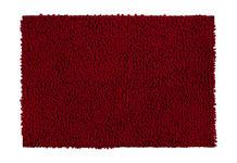 BADEMATTE in Rot 60/90 cm  - Rot, Basics, Kunststoff/Textil (60/90cm) - Esposa
