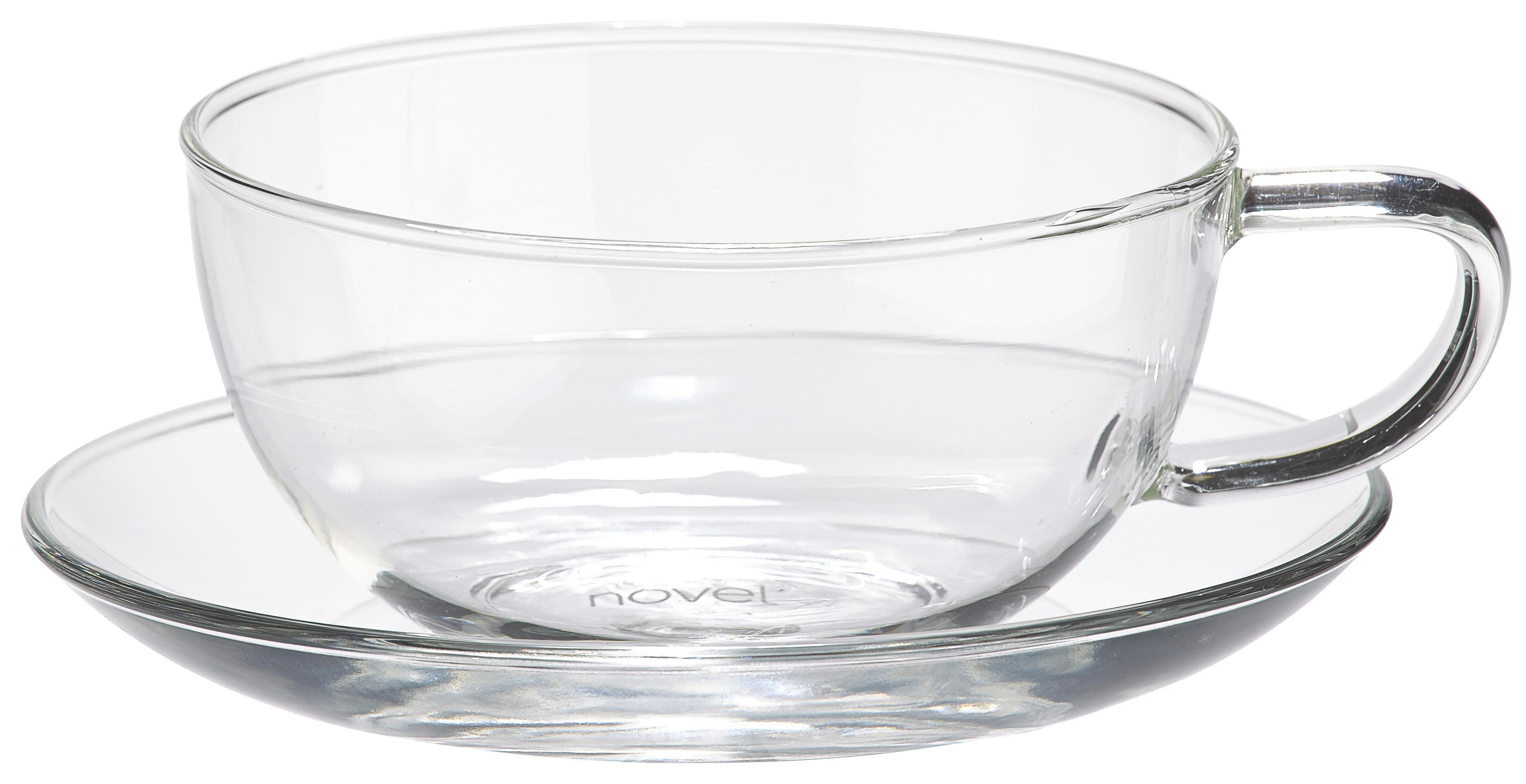 TEETASSE - Klar, Basics, Glas (0,24l) - NOVEL