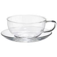 TEETASSE 240 ml - Klar, KONVENTIONELL, Glas (0,24l) - Novel