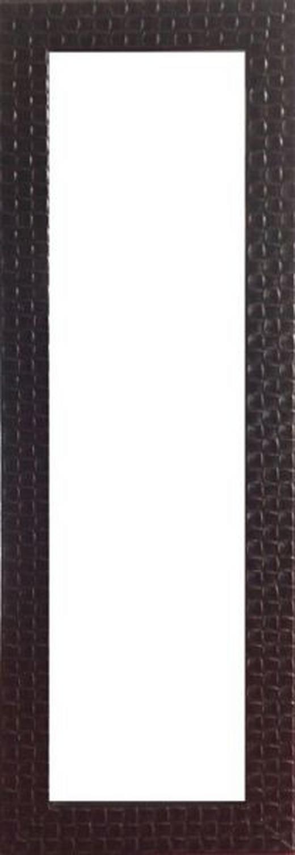SPIEGEL Paulownia Goldfarben, Schwarz - Goldfarben/Schwarz, Design, Glas/Holz (46/137,5/2,2cm) - Landscape