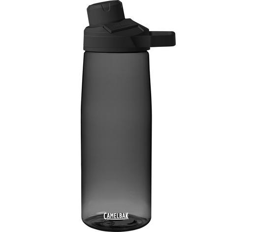 TRINKFLASCHE 0,75 L - Grau, Design, Kunststoff (,75l)