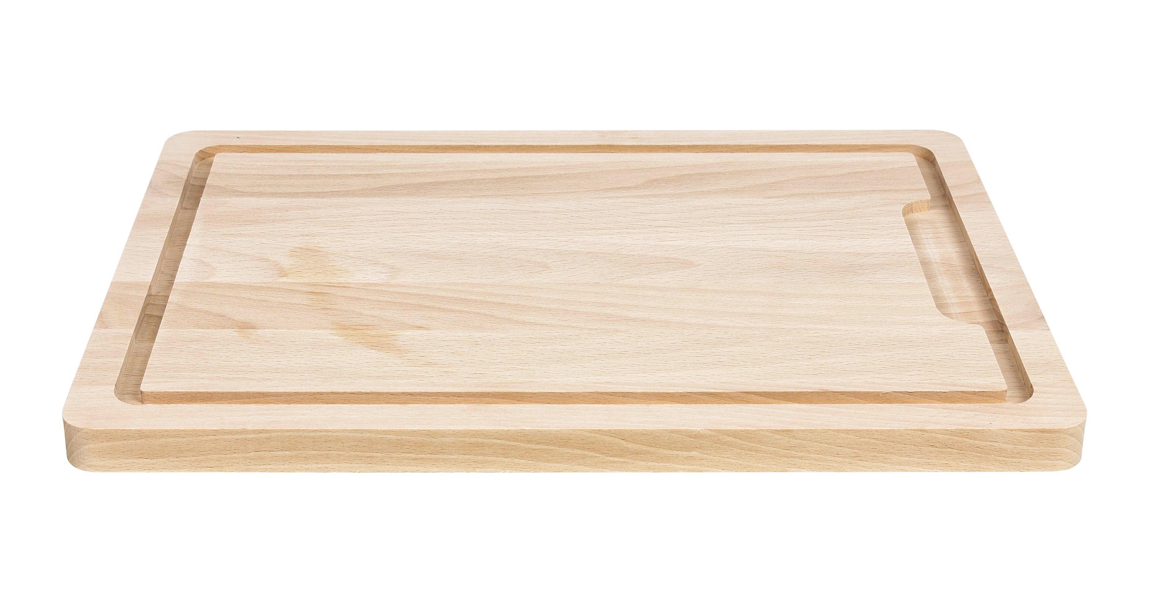 SCHNEIDEBRETT 40/28/12 cm - Braun, Basics, Holz (40/28/12cm) - HOMEWARE