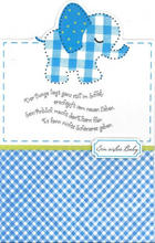 BILLETT - Blau/Weiß, Basics, Papier (11,5/18cm)