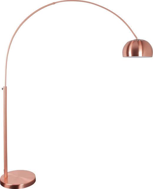 BOGENLEUCHTE - Kupferfarben, LIFESTYLE, Metall (170/205cm)