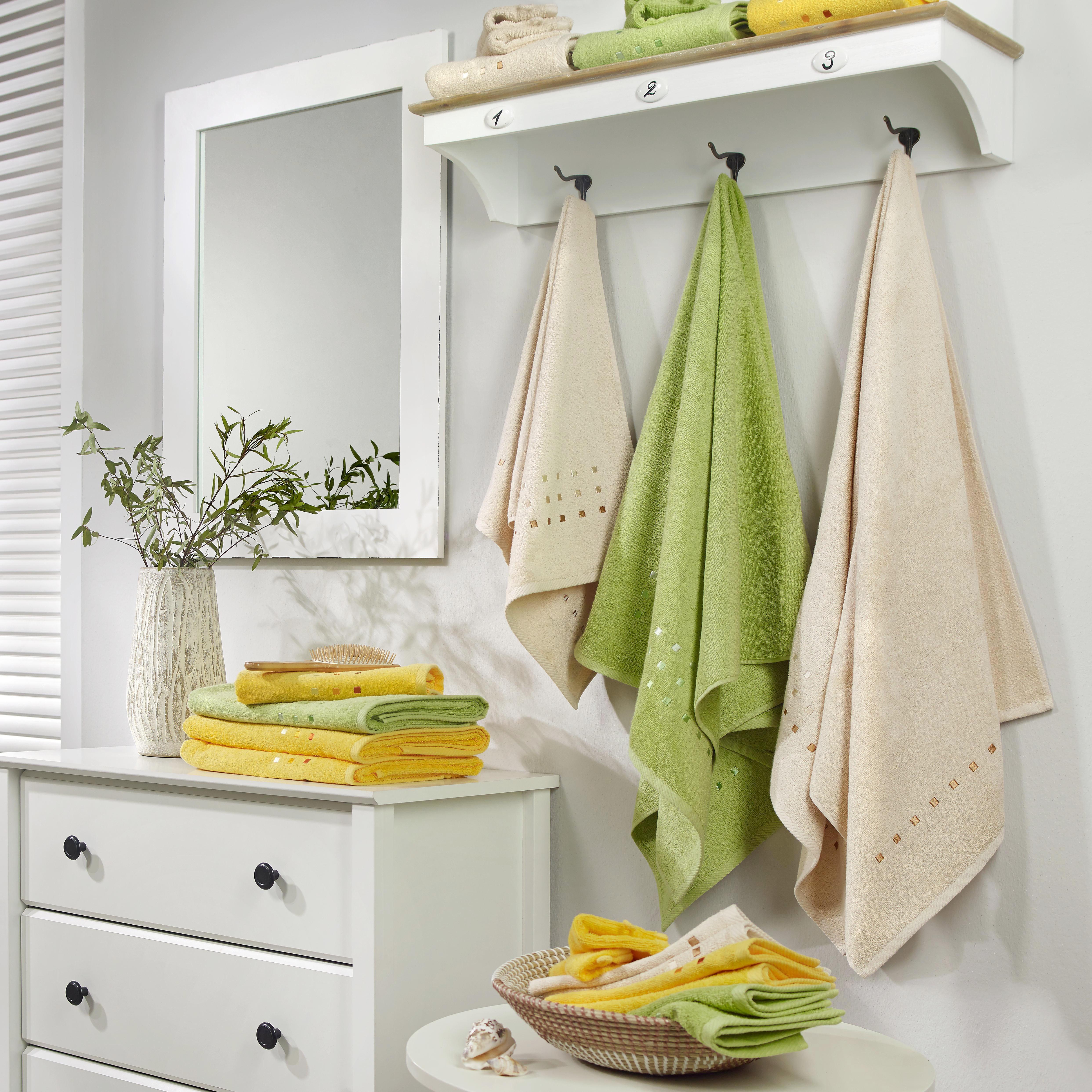 TVÄTTHANDSKE - beige, Basics, textil (16/22cm) - ESPOSA