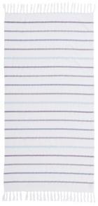 HAMAMTUCH 80/160 cm - Türkis/Lila, Basics, Textil (80/160cm)