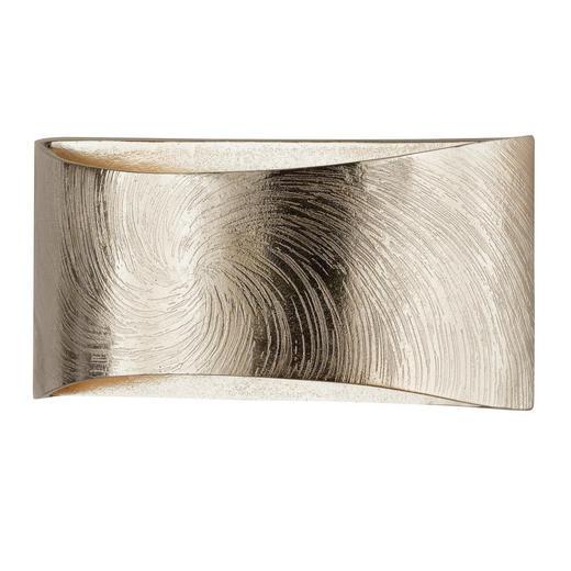 Led-wandleuchte - Champagner/Goldfarben, Lifestyle, Metall (14/30/9,5cm)