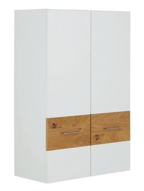 VÄGGHÄNGD MODUL - vit/kromfärg, Design, metall/trä (75/115/37cm) - Xora