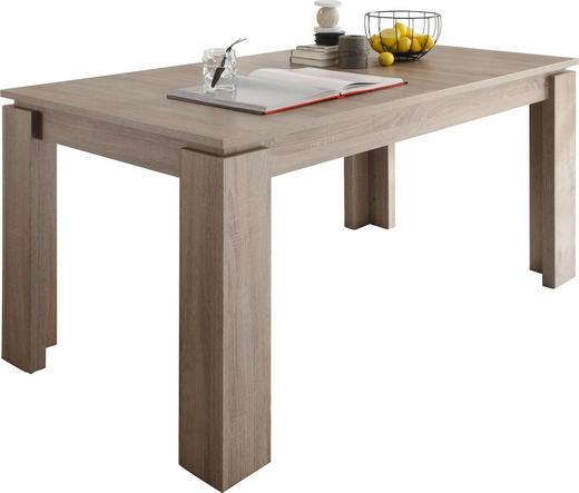 ESSTISCH rechteckig Eichefarben - Eichefarben, Design, Holzwerkstoff (160(200)/90/77cm) - Carryhome