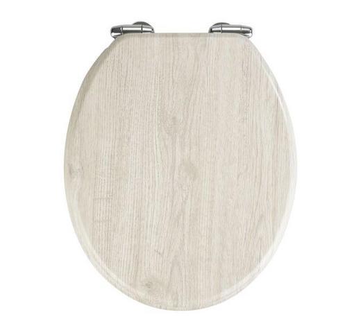 WC-SITZ Grau  - Grau, Basics (37/43cm)