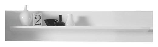 WANDBOARD Weiß - Weiß, Design (139/29/18cm) - Carryhome