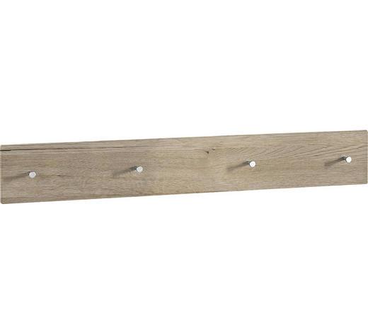GARDEROBENLEISTE - Eichefarben, Design, Holzwerkstoff (106/15/5cm) - Xora