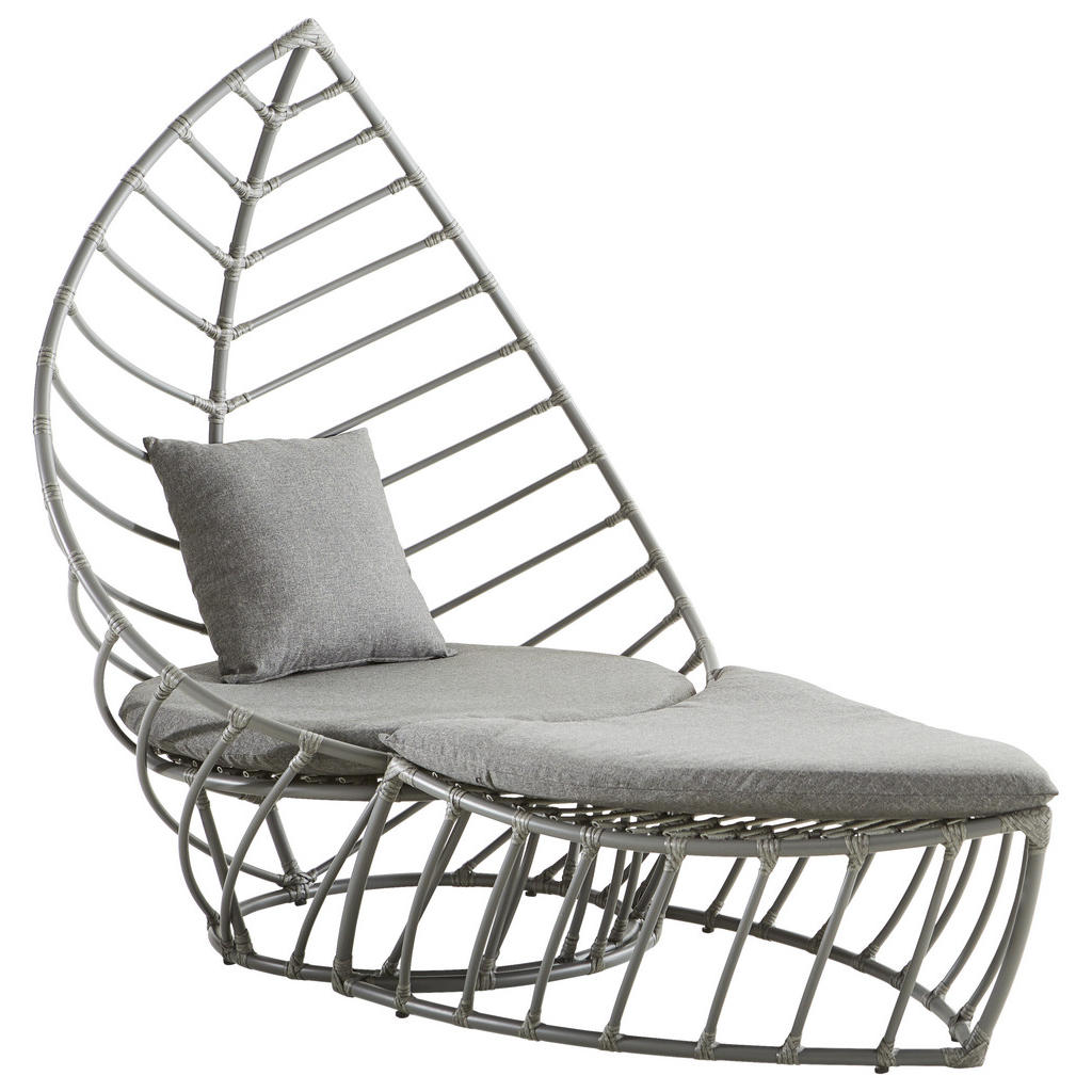Amatio Gartenset kunststoffgeflecht aluminium