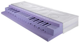 MATRATZE MEDI-Q AIR CORE-GI 90/200 cm - Weiß, Basics, Textil (90/200cm) - DIETER KNOLL