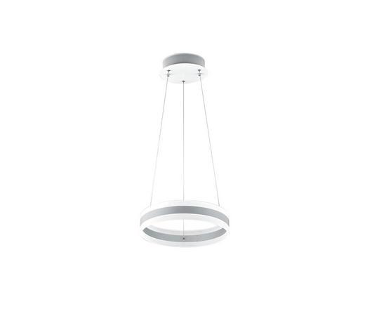LED-HÄNGELEUCHTE   - Weiß, Design, Metall (40/180cm)