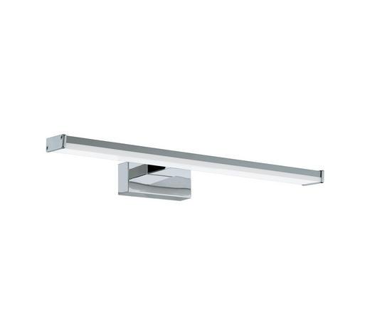 LED NÁSTĚNNÉ SVÍTIDLO - bílá/barvy chromu, Design, kov/umělá hmota (40/4cm)