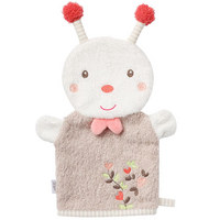 BABYWASCHHANDSCHUH - Multicolor/Rosa, Basics, Textil (30cm) - Fehn