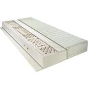 Naturlatexkern MATRATZE 90/200 cm - Weiß, Basics, Textil/Weitere Naturmaterialien (90/200cm) - NOVEL