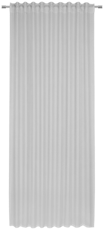 FERTIGVORHANG  transparent  140/245 cm - Hellgrau, Design, Textil (140/245cm) - Esposa