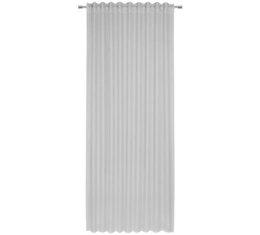 FERTIGVORHANG transparent - Hellgrau, Design, Textil (140/245cm) - Esposa