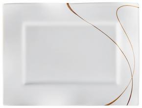 FAT, 25,5/35 CM - vit/brun, Design, keramik (25,5/35cm) - Ritzenhoff Breker
