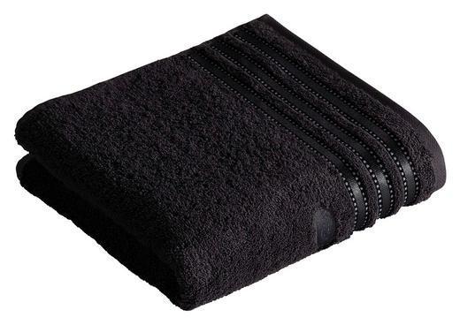 HANDTUCH 50/100 cm - Schwarz, Basics, Textil (50/100cm) - Vossen
