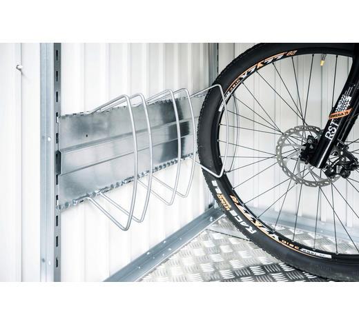 FAHRRADSTÄNDER - Silberfarben, Design, Metall - Biohort