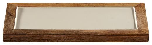 DEKOTABLETT - Creme, Metall (33/2/16,5cm)