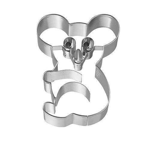 KEKSAUSSTECHFORM - Edelstahlfarben, Basics, Metall (6,2/8/2,5cm) - Birkmann