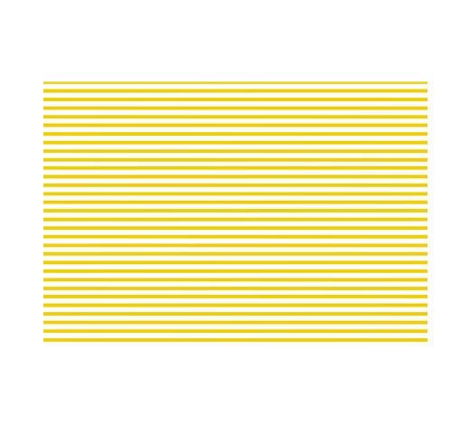TISCHSET 30/45 cm Kunststoff - Gelb, Basics, Kunststoff (30/45cm)