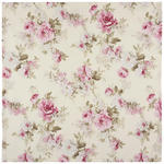 TISCHDECKE 85/85 cm - Creme/Rosa, Trend, Textil (85/85cm) - Esposa