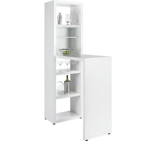 Bartisch In Weiß Design Holzwerkstoff 59 202 115cm