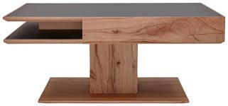 COUCHTISCH Buche massiv rechteckig Anthrazit, Buchefarben  - Anthrazit/Buchefarben, Design, Glas/Holz (105/75/46cm) - Valnatura