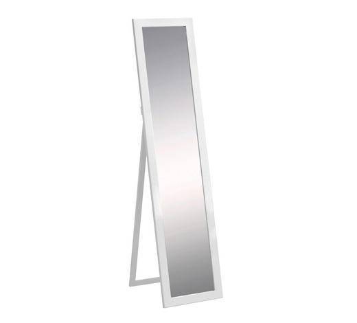 STANDSPIEGEL Weiß  - Weiß, Design, Glas/Holzwerkstoff (35/150/4cm) - Carryhome