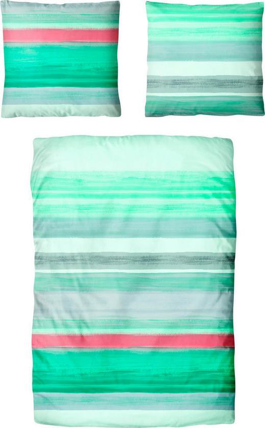 BETTWÄSCHE Satin Grün, Hellgrau, Mintgrün, Rosa, Weiß 135/200 cm - Hellgrau/Rosa, Trend, Textil (135/200cm) - Esposa