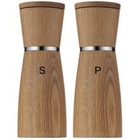 SALZ- UND PFEFFERSTREUER - Basics, Glas/Holz (17,90cm) - WMF