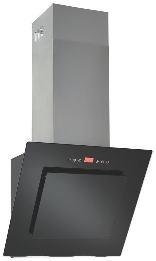 Dunstabzugshaube 373827 - Schwarz, Basics, Glas/Metall (60/46-134/39,4cm) - Premiere