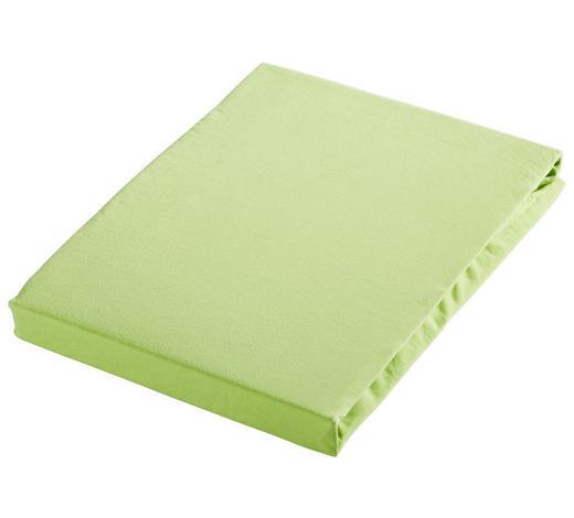 SPANNLEINTUCH 100/200 cm - Hellgrün, Basics, Textil (100/200cm) - Novel