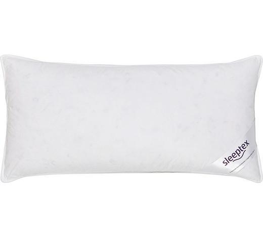 POLŠTÁŘ 3KOMOROVÝ, 40/80 cm - bílá, Basics, textil (40/80cm) - Sleeptex