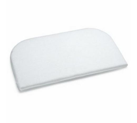 BEISTELLBETTMATRATZE Klima - Weiß, Basics, Textil (81/42/4cm) - Tobi