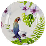 New Bone China  DESSERTTELLER  rund  - Multicolor, Trend, Keramik (20,3cm) - Landscape